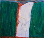 Nigeria: smalto su tela e legno cm.140x160